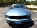 2007 Vista Blue Metallic Ford Mustang V6 Deluxe Convertible  photo #6