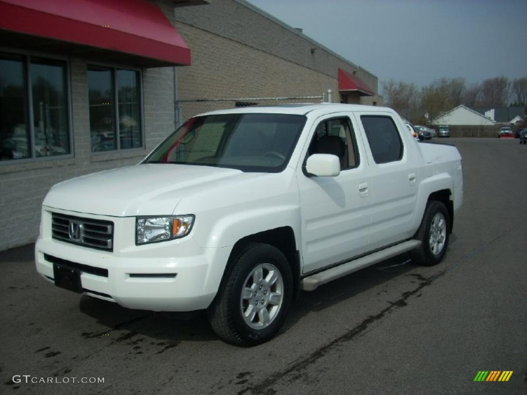 2006 white honda ridgeline rtl 28092684. Black Bedroom Furniture Sets. Home Design Ideas