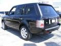 2007 Java Black Pearl Land Rover Range Rover HSE  photo #3