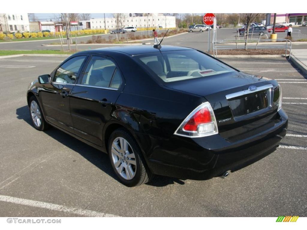 2007 black ford fusion sel v6 awd 28092454 photo 7 car color galleries. Black Bedroom Furniture Sets. Home Design Ideas