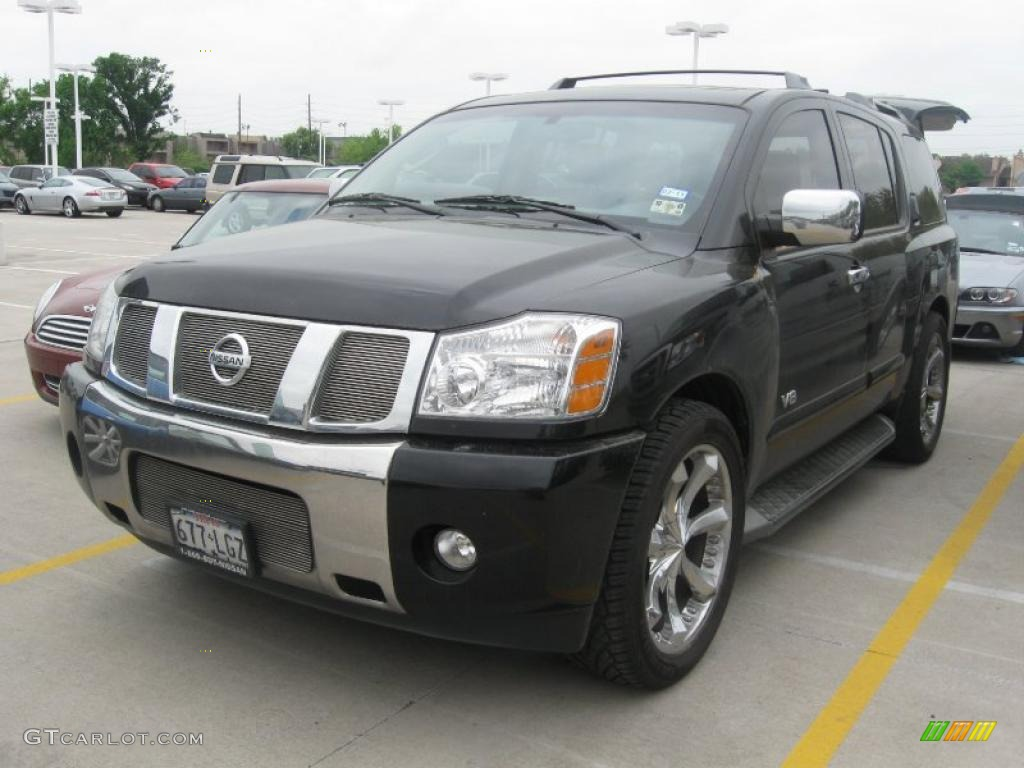 2005 galaxy black nissan armada le 28143813 car color galleries. Black Bedroom Furniture Sets. Home Design Ideas