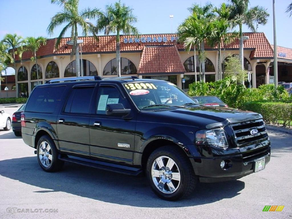 10 Black Ford Expedition EL Limited #10  GTCarLot.com