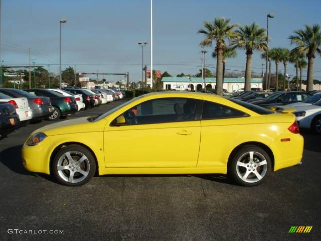 2008 competition yellow pontiac g5 gt 2812778 photo 2. Black Bedroom Furniture Sets. Home Design Ideas
