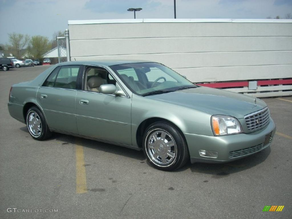 2005 Green Silk Cadillac Deville Sedan 28196764