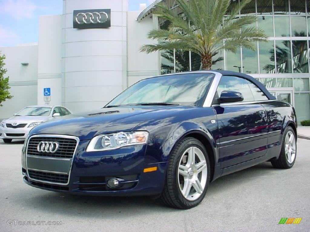 2007 moro blue pearl effect audi a4 2 0t cabriolet 28196142 car color galleries. Black Bedroom Furniture Sets. Home Design Ideas