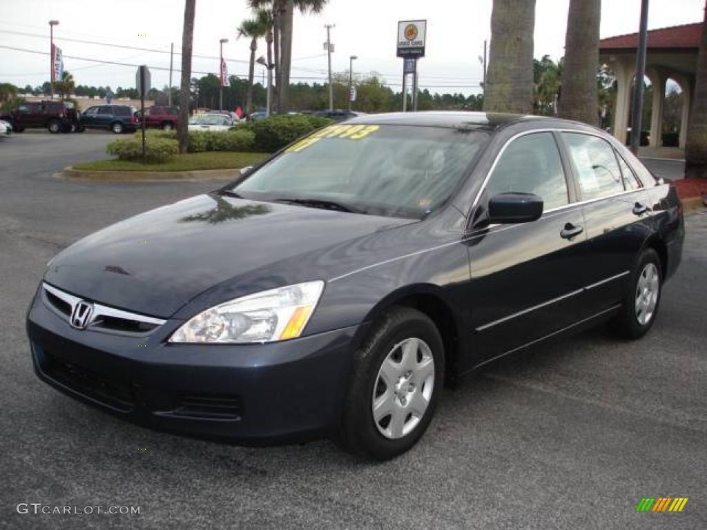 2007 royal blue pearl honda accord lx sedan 2812755 for 2007 honda accord lx sedan
