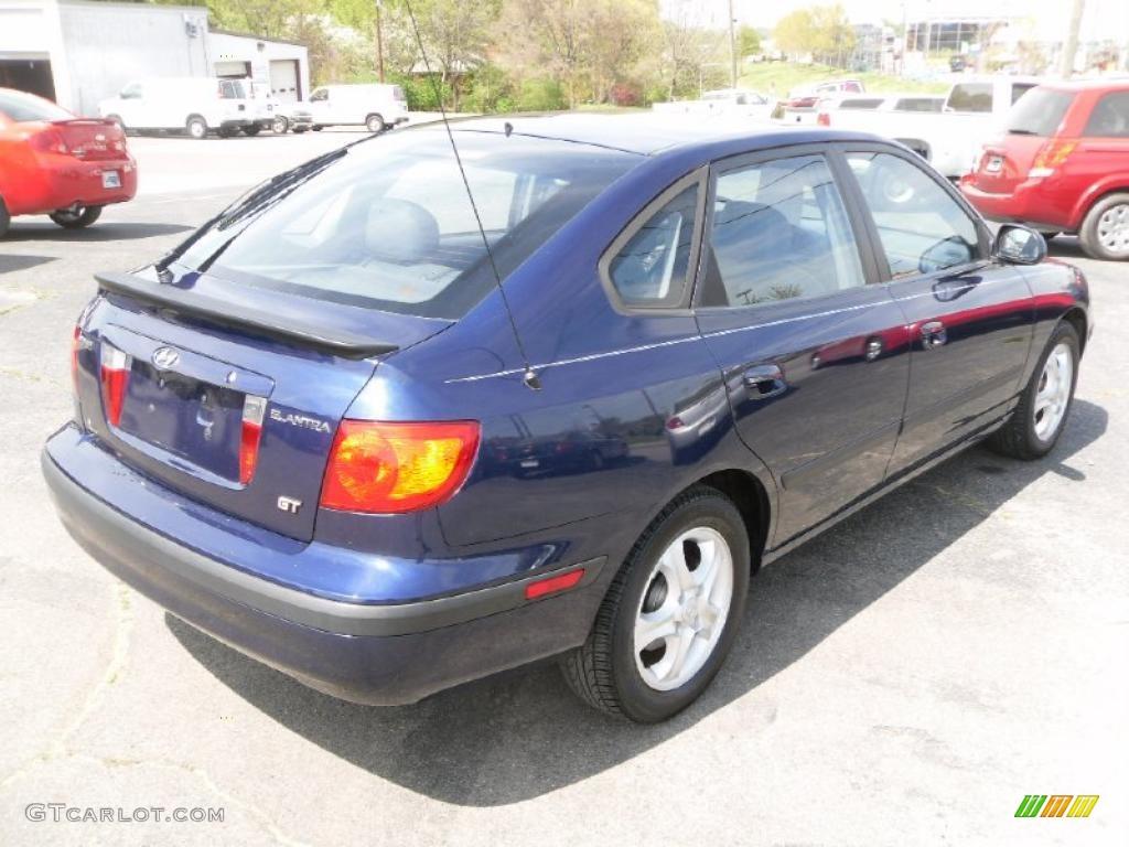 2003 carbon blue hyundai elantra gt hatchback 28196798 photo 4 gtcarlot com car color galleries gtcarlot com
