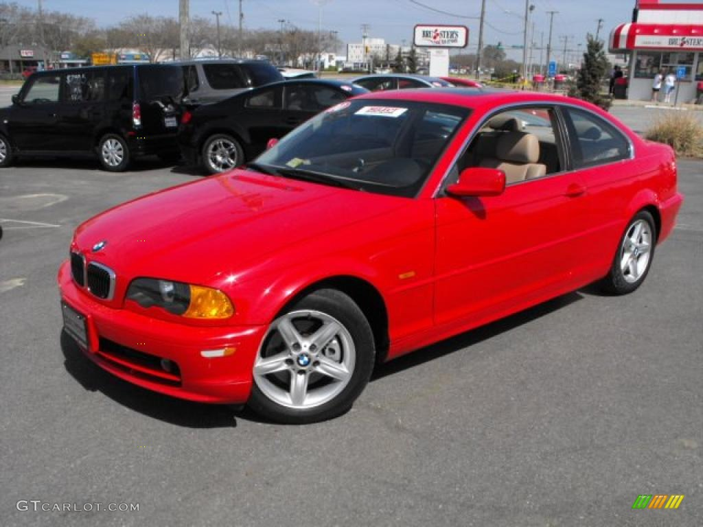 bright red 2000 bmw 3 series 328i coupe exterior photo 28221658. Black Bedroom Furniture Sets. Home Design Ideas