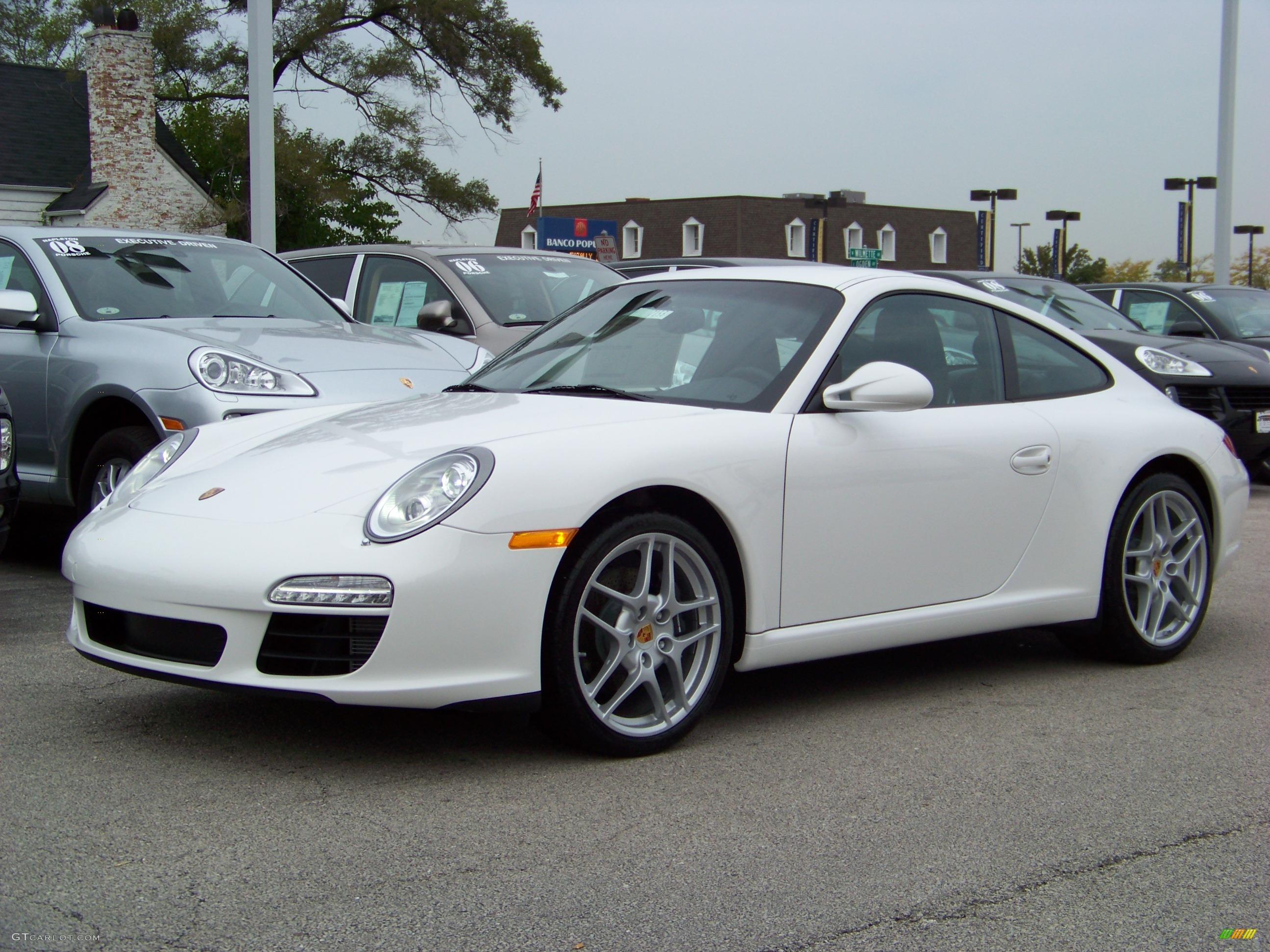 2009 Carrara White Porsche 911 Carrera Coupe 281960