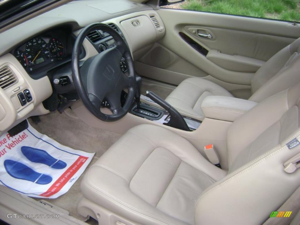 2000 Dark Emerald Pearl Honda Accord Ex V6 Coupe 28247200
