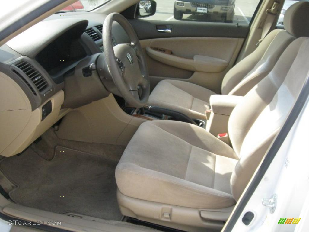 2003 Taffeta White Honda Accord Ex Sedan 28247284 Photo