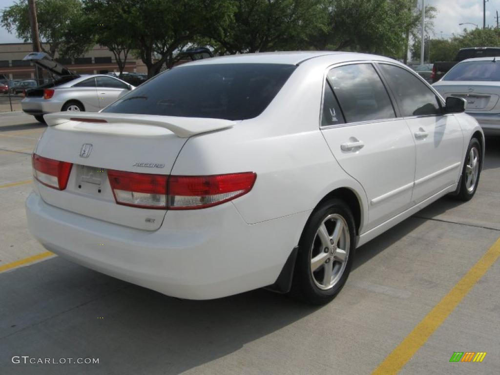 2003 Taffeta White Honda Accord Ex Sedan 28247284 Photo