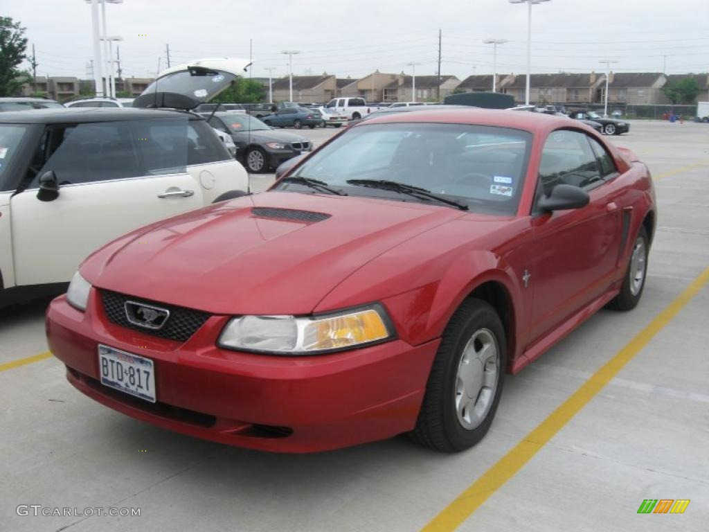 on 1995 Ford Mustang V6 Green