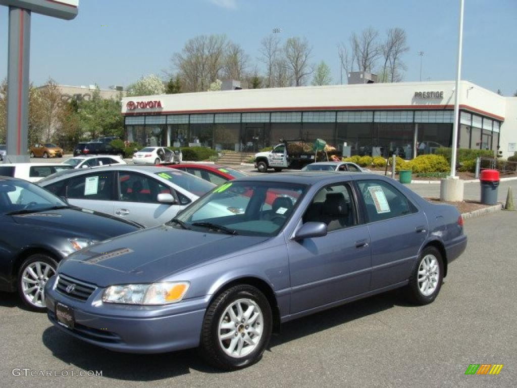 2000 camry xle v6 constellation blue pearl gray photo 1
