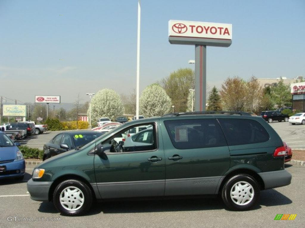 2003 woodland green pearl toyota sienna le 28247085 photo. Black Bedroom Furniture Sets. Home Design Ideas
