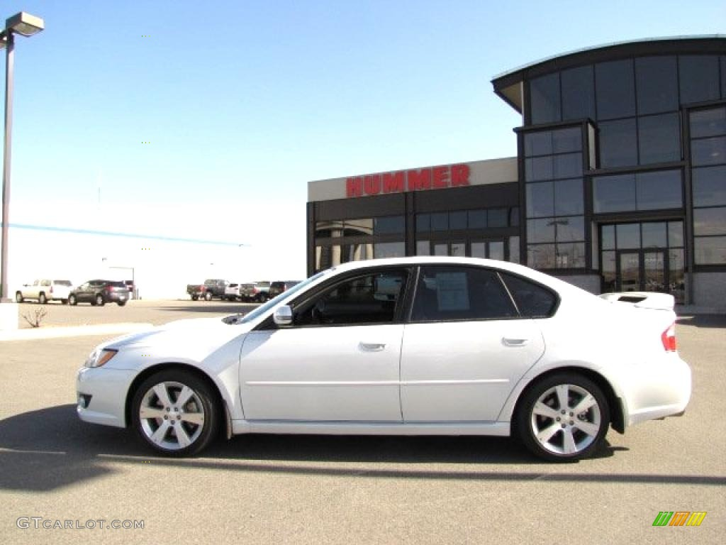 2008 satin white pearl subaru legacy 2 5 gt limited sedan 28247351 car color. Black Bedroom Furniture Sets. Home Design Ideas