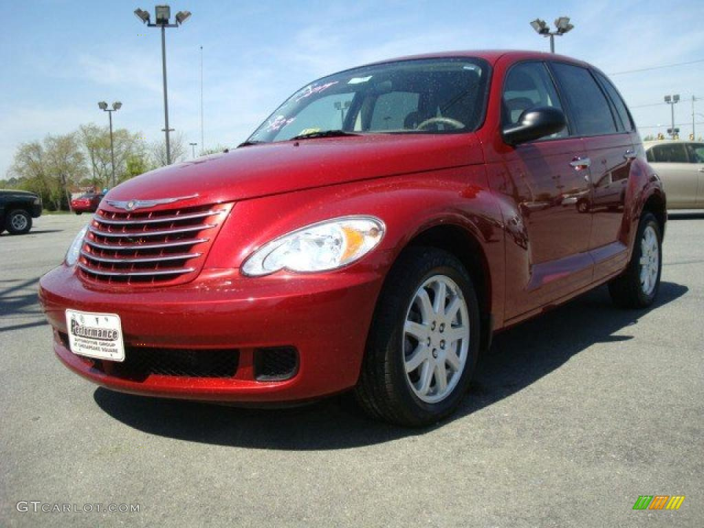 Pt Cruiser Touring Red