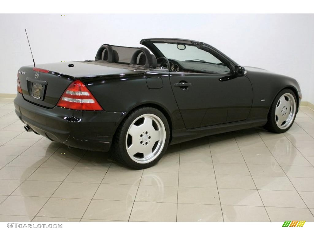 2001 black mercedes benz slk 320 roadster 28312817 photo for 2001 mercedes benz slk320