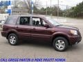 2007 Dark Cherry Pearl Honda Pilot EX-L 4WD  photo #6
