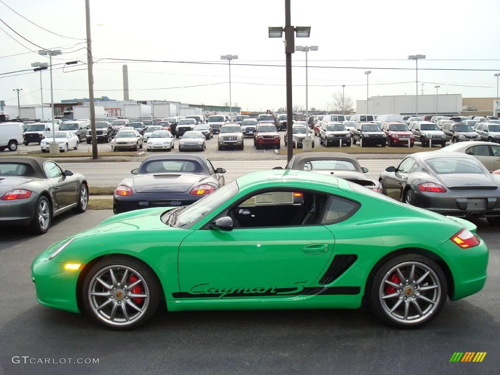 2008 Green Porsche Cayman S Sport 2824777 Gtcarlot Com