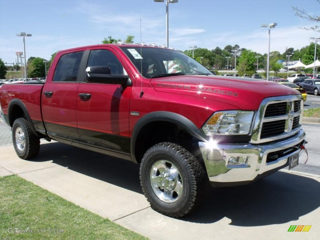2006 Dodge Ram 2500 Quad Cab Power Wagon News >> 2010 Inferno Red Crystal Pearl Dodge Ram 2500 Power Wagon Crew Cab 4x4 #28364390 Photo #4 ...