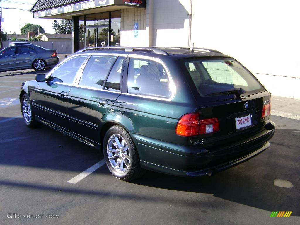 2003 Oxford Green Metallic Bmw 5 Series 525i Sport Wagon 2833906 Photo 4 Gtcarlot Com Car Color Galleries