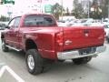 2008 Inferno Red Crystal Pearl Dodge Ram 3500 Big Horn Edition Quad Cab 4x4 Dually  photo #5