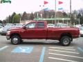 2008 Inferno Red Crystal Pearl Dodge Ram 3500 Big Horn Edition Quad Cab 4x4 Dually  photo #6