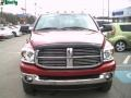2008 Inferno Red Crystal Pearl Dodge Ram 3500 Big Horn Edition Quad Cab 4x4 Dually  photo #15