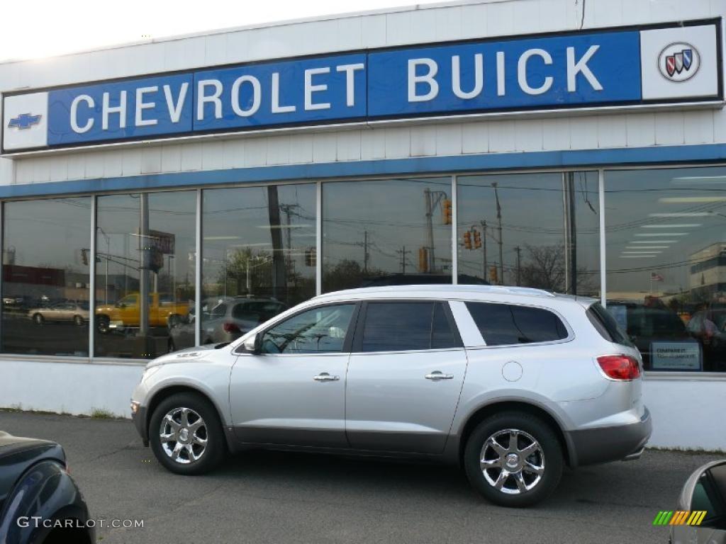 2010 Enclave CXL AWD - Quicksilver Metallic / Ebony/Ebony photo #1
