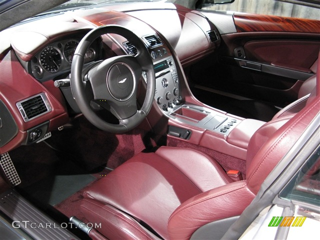 Iron ore interior 2005 aston martin db9 coupe photo for Aston martin db9 interior
