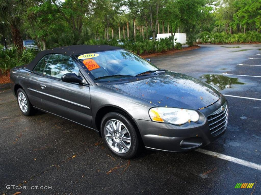 2004 graphite metallic chrysler sebring limited. Black Bedroom Furniture Sets. Home Design Ideas