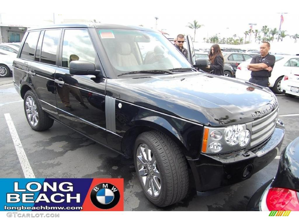 2007 Range Rover HSE - Java Black Pearl / Sand/Jet photo #1