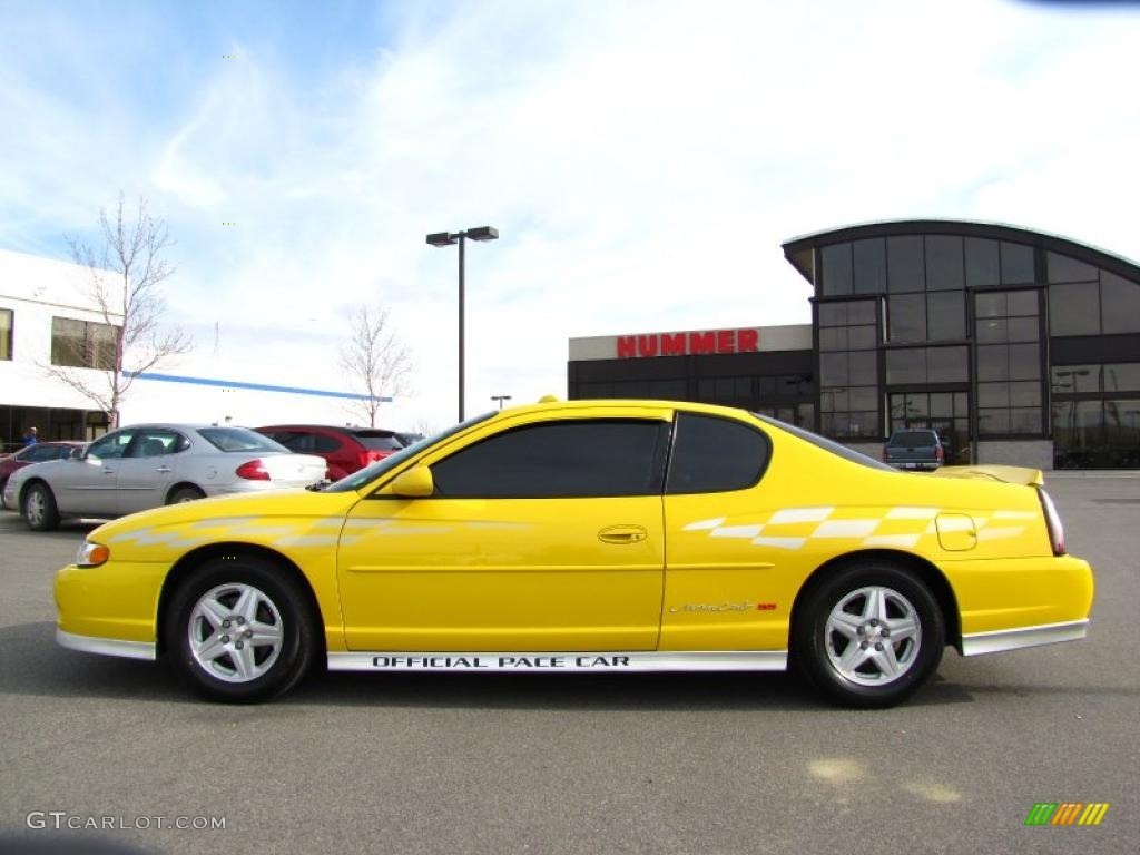 2002 competition yellow chevrolet monte carlo ss limited edition pace car 28403210 photo 3. Black Bedroom Furniture Sets. Home Design Ideas