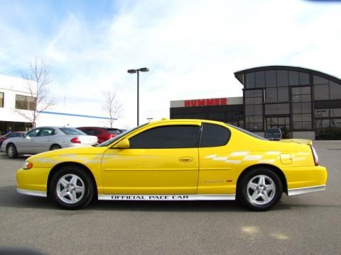 2002 chevrolet monte carlo ss limited edition pace car data info and specs. Black Bedroom Furniture Sets. Home Design Ideas