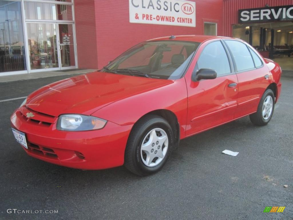 Victory red chevrolet cavalier