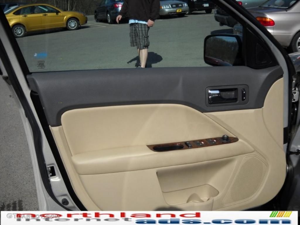 2010 Fusion SEL V6 - Smokestone Metallic / Camel photo #9
