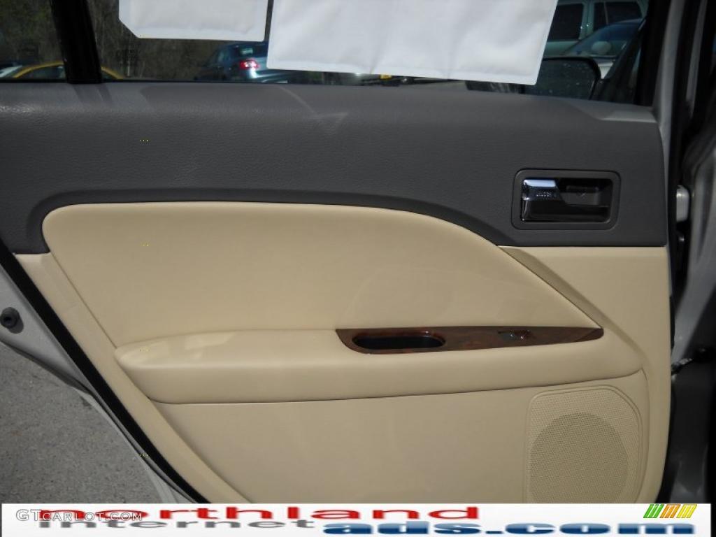 2010 Fusion SEL V6 - Smokestone Metallic / Camel photo #13