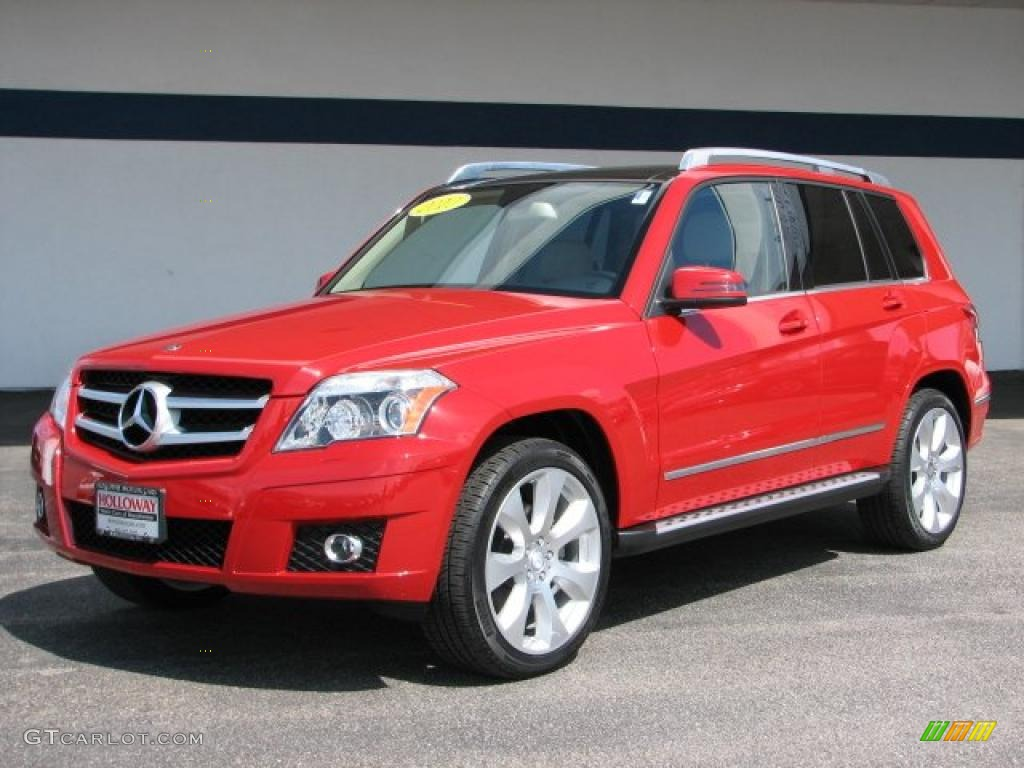 2010 Mars Red Mercedes Benz Glk 350 4matic 28461674