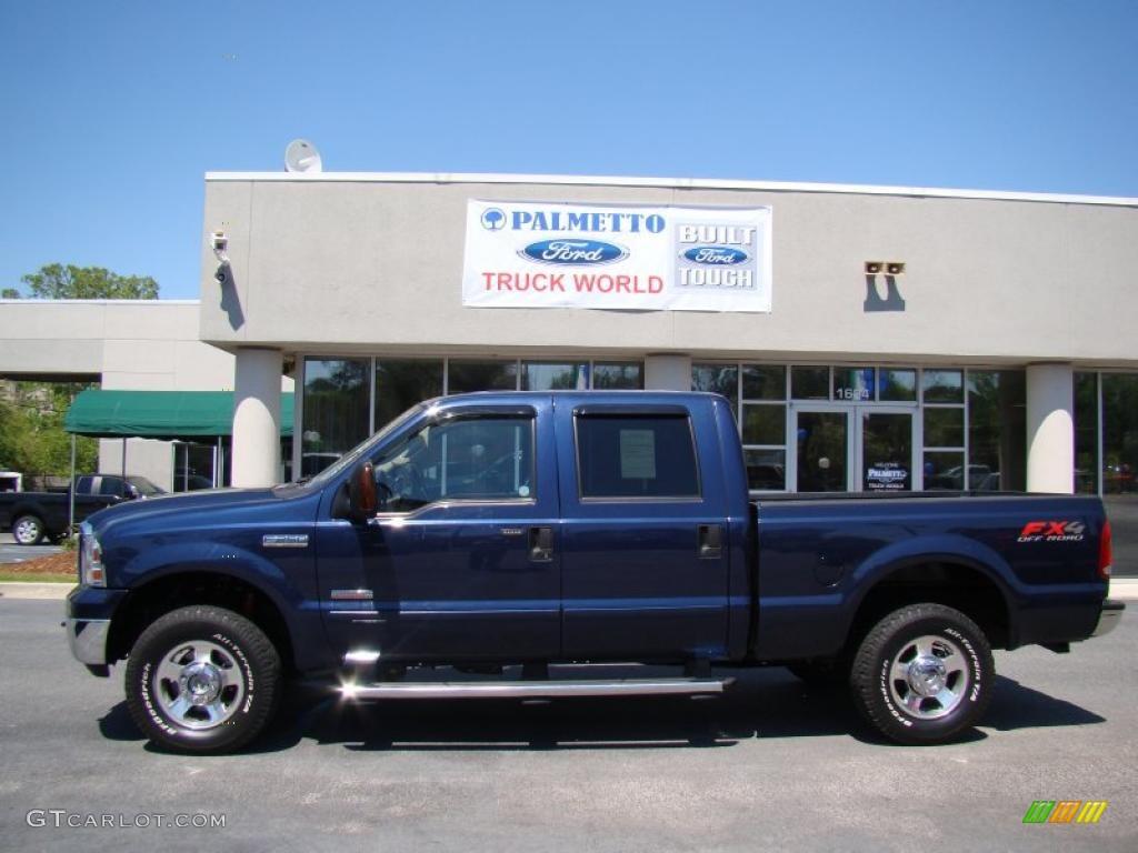 2005 f250 super duty lariat fx4 crew cab 4x4 medium wedgewood blue