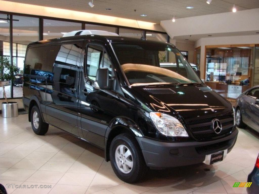 2010 black mercedes benz sprinter 2500 passenger van for 2010 mercedes benz 2500