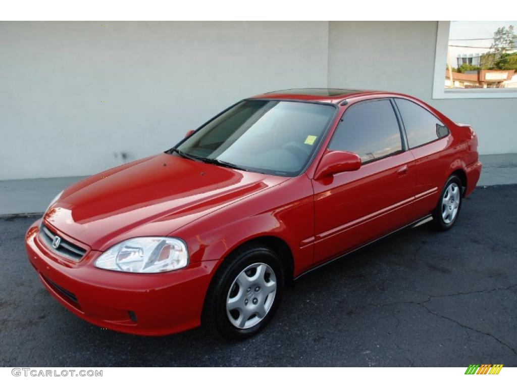 2000 milano red honda civic ex coupe 28461786 car color galleries. Black Bedroom Furniture Sets. Home Design Ideas