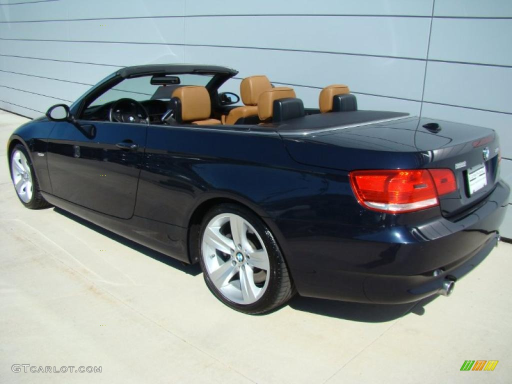 2007 monaco blue metallic bmw 3 series 335i convertible 28527393 photo 5 car. Black Bedroom Furniture Sets. Home Design Ideas