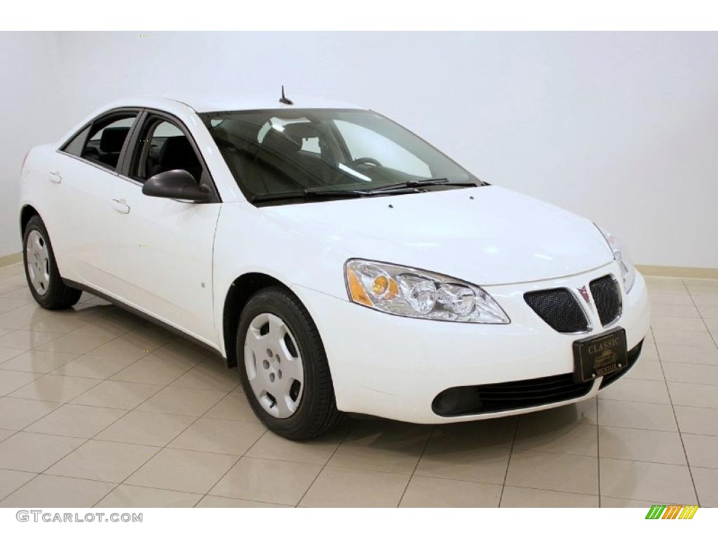 2008 Ivory White Pontiac G6 Value Leader Sedan 28527988