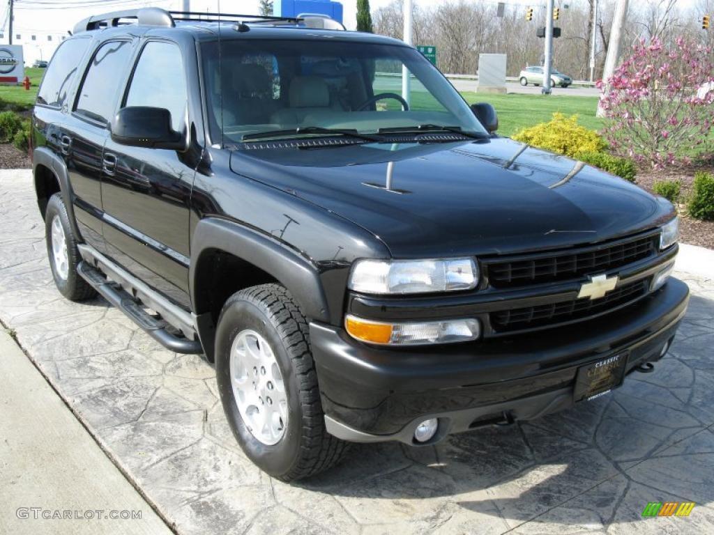 2003 black chevrolet tahoe z71 4x4 28528011 gtcarlot com car color galleries gtcarlot com