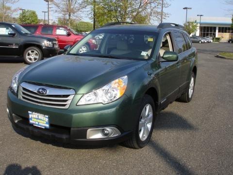 Subaru Outback 2010 Green. 2.5i Premium Wagon middot; 2010