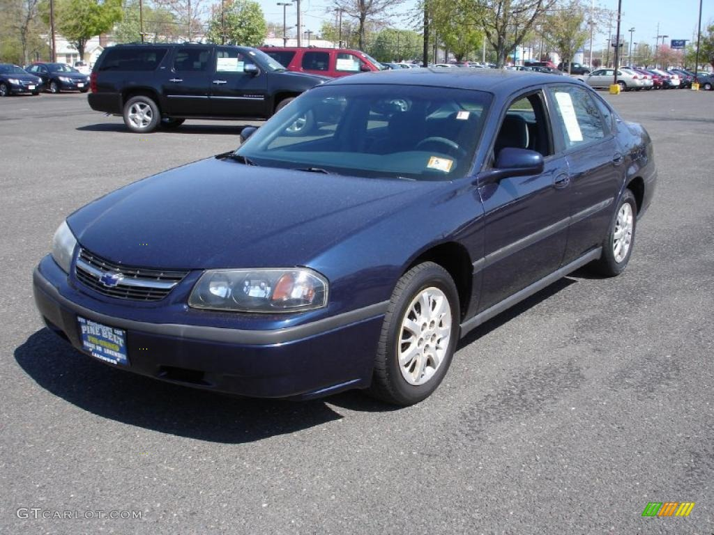 2000 navy blue metallic chevrolet impala 28594593 car color galleries. Black Bedroom Furniture Sets. Home Design Ideas