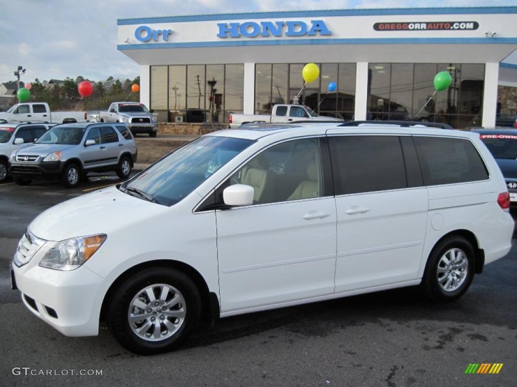 2010 Taffeta White Honda Odyssey Ex L 28595095 Car Color Galleries