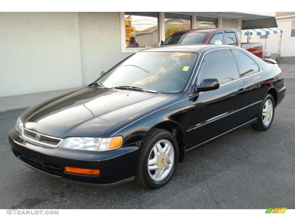 1997 Flamenco Black Pearl Honda Accord Ex Coupe 28595122