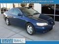 2002 Eternal Blue Pearl Honda Accord EX Coupe  photo #1